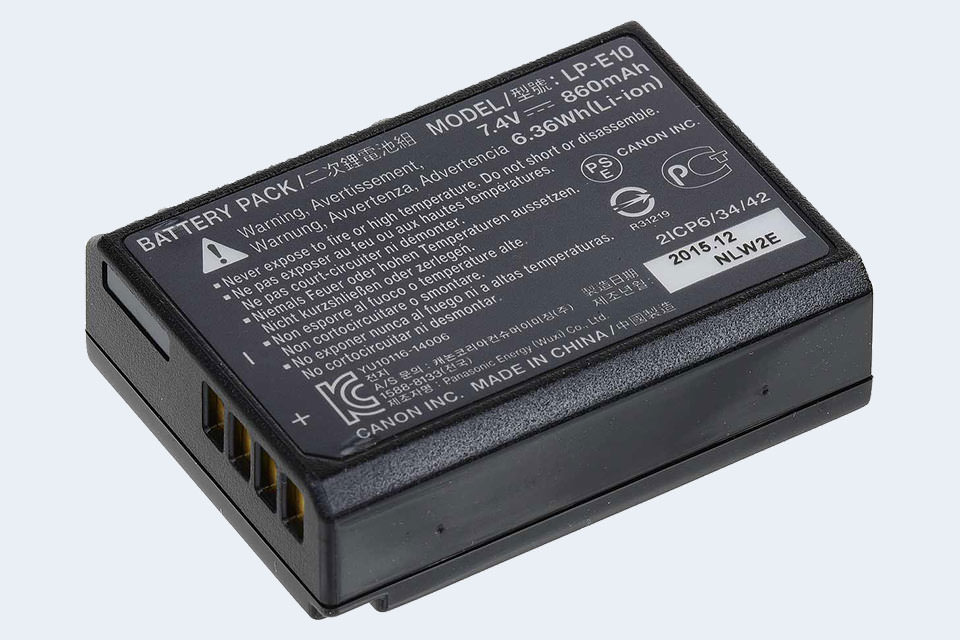 Genuine Canon LC-E10E Battery Charger for EOS 1100D 1300D ....more 1200D