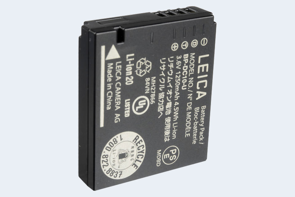 High Quality Battery for LEICA D-LUX6 Premium Cell