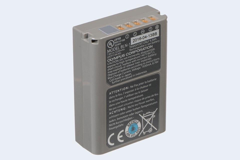 BLN-1 Battery For Olympus E-M1 E-M5 E-M5 II E-P5 PEN-F