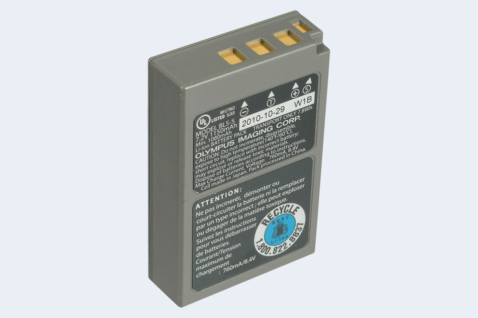 2x Battery for Olympus Pen E-PL9 Pen E-PL8 E‑P3 900mAh Charger