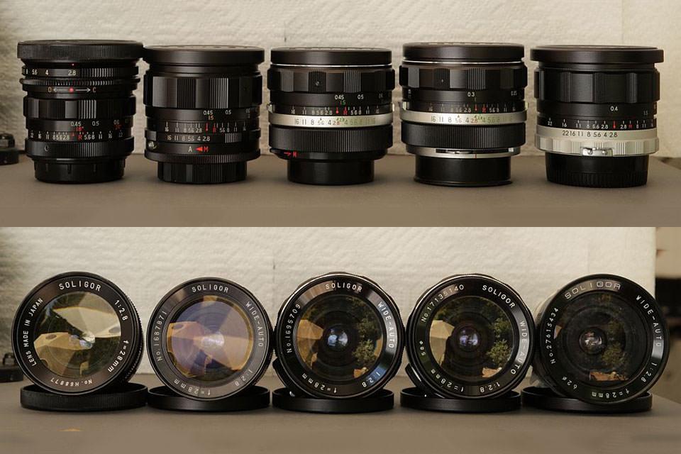SOLIGOR Lens Compendium