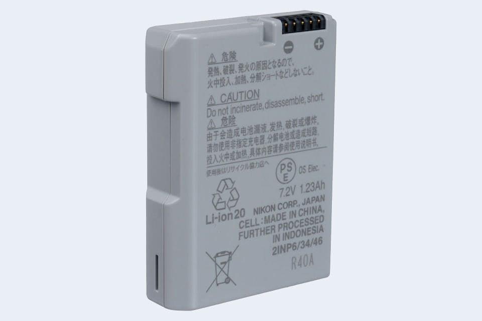 Original Nikon batería en-el14a