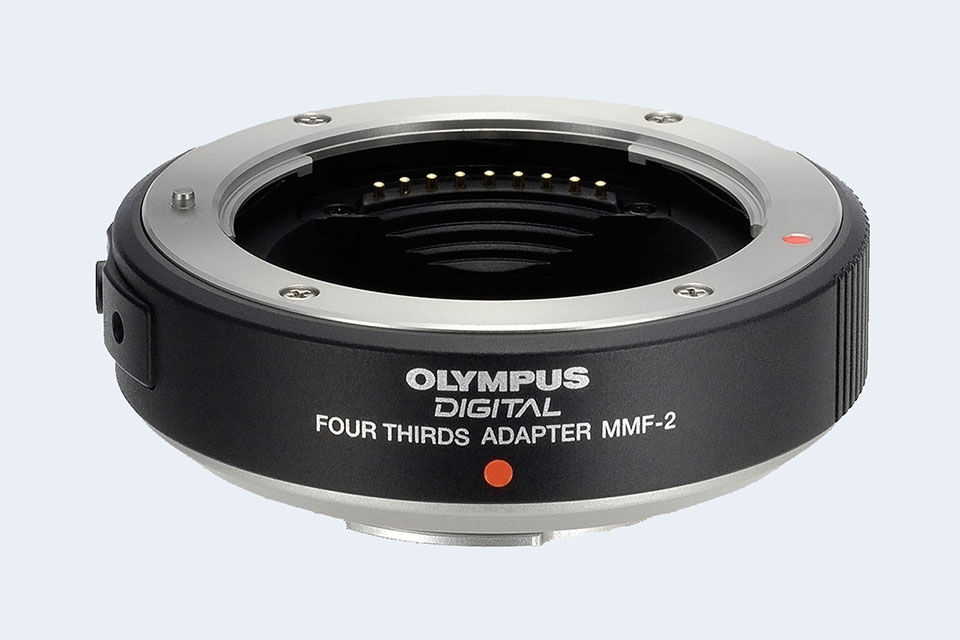 Olympus OM Lens to Olympus Four Thirds 4//3 43 mount adapter ring Replace MF-1