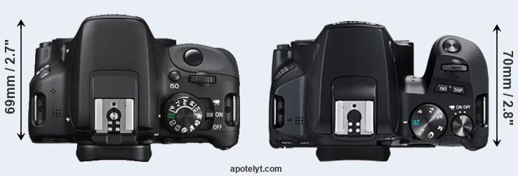 Canon 100D vs Canon 250D Comparison Review