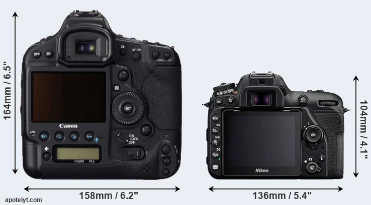 1DC and D7500 rear side