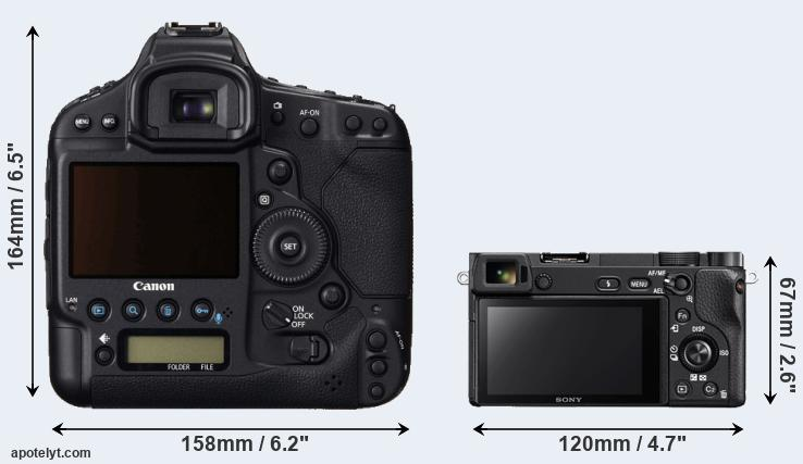 1DC and A6300 rear side