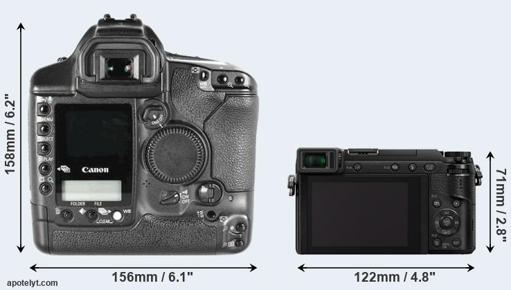1D Mark II and GX80 rear side