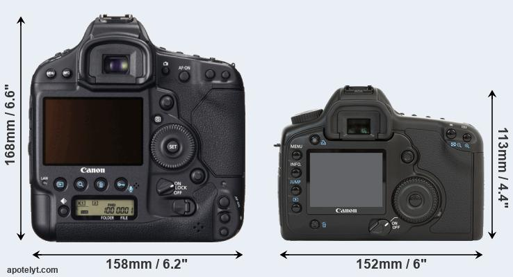 1DX and 5D rear side