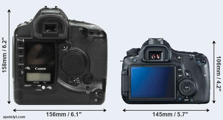 1Ds and 60D rear side