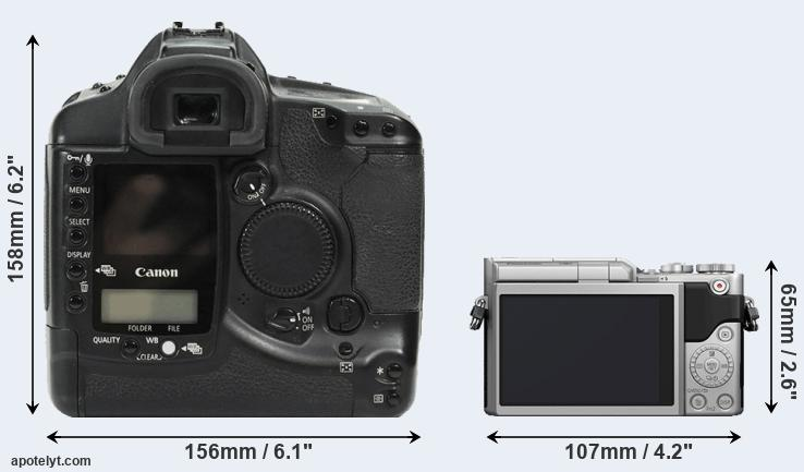 1Ds and GX850 rear side