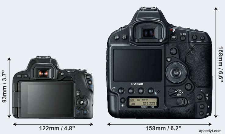 200D and 1DX Mark II rear side