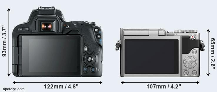 200D and GX800 rear side