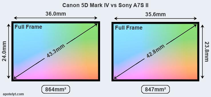 Canon 5D Mark IV vs Sony A7S II Comparison Review