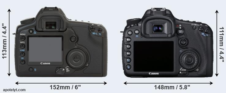 5D and 7D rear side