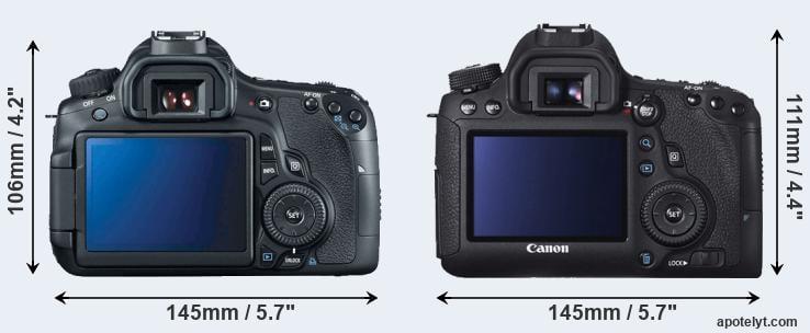Canon 60D vs Canon 6D Comparison Review