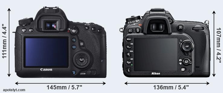 6D and D7100 rear side
