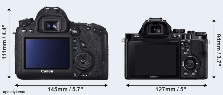 6D and A7 rear side