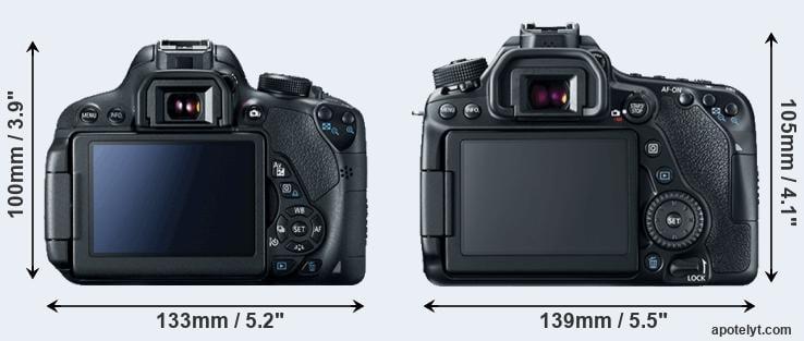 Canon 700D vs Canon 80D Comparison Review