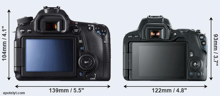70D and 200D rear side