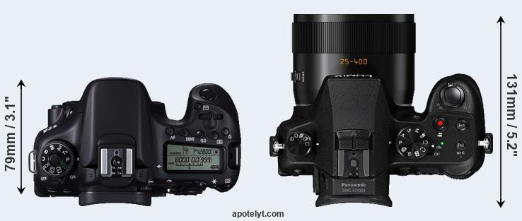 Compare canon 70d vs panasonic fz1000 compare 70d versus fz1000 top