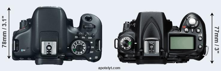 canon 750d vs nikon d90 comparison review rh apotelyt com Nikon D5000 Photography Nikon D5000 Photography