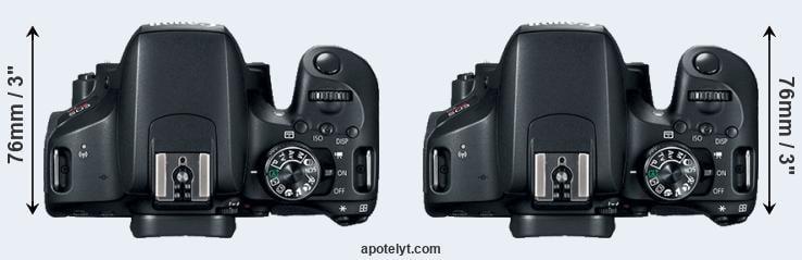 Canon 800D vs Canon T7i Comparison Review