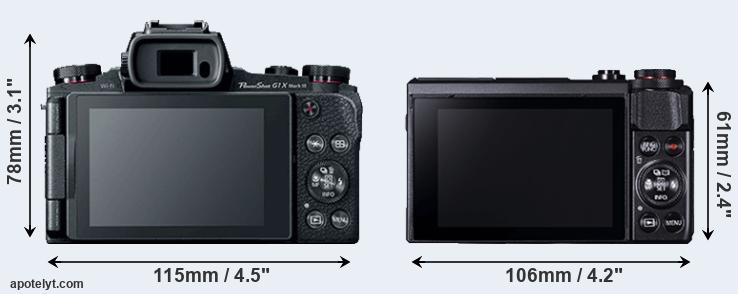 Canon G1 X Mark III vs Canon G7 X Mark II Comparison Review