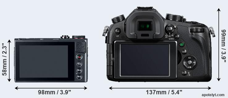 G9X and FZ1000 rear side