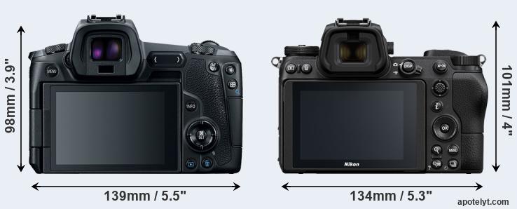 Canon R Vs Nikon Z6 Comparison Review