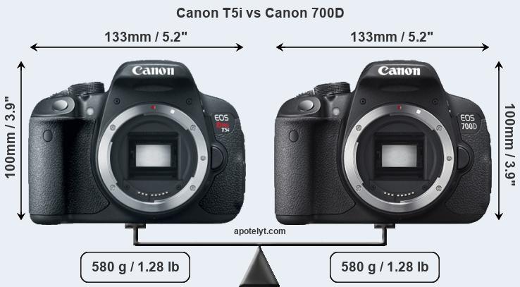 Canon T5i Vs Canon 700d Comparison Review