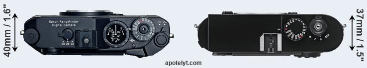 Epson R-D1 vs Leica M9 Comparison Review