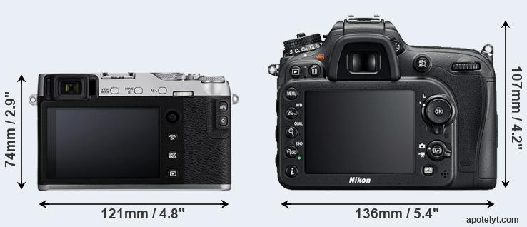 Fujifilm X-E3 vs Nikon D7200 Comparison Review