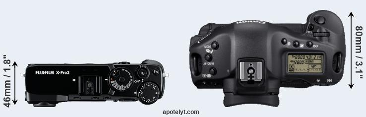 Fujifilm X-Pro2 vs Canon 1D Mark IV Comparison Review