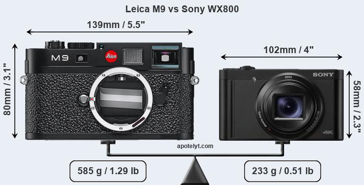 Kindle Vs Sony Reader: Leica M9 Vs Sony WX800 Comparison Review
