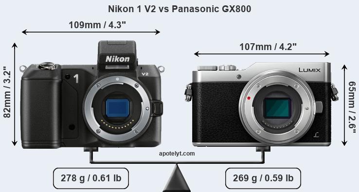 2x Crystal Clear LCD Screen Protector Film for Panasonic Lumix GX850 GX800 GF9