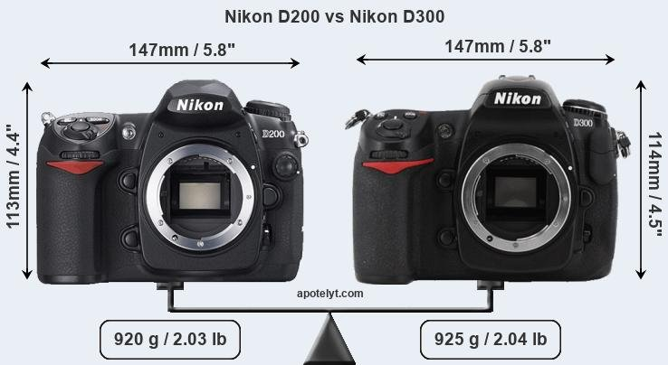 Nikon D200 vs Nikon D300 Comparison Review