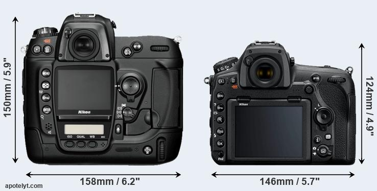 D2H and D850 rear side