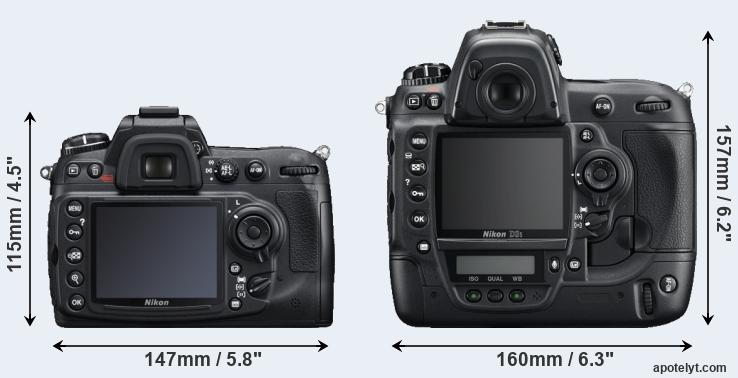 D300S and D3S rear side