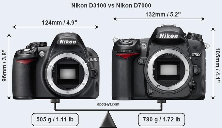 Nikon D3100 vs Nikon D7000 Comparison Review