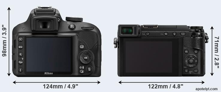 D3300 and GX80 rear side