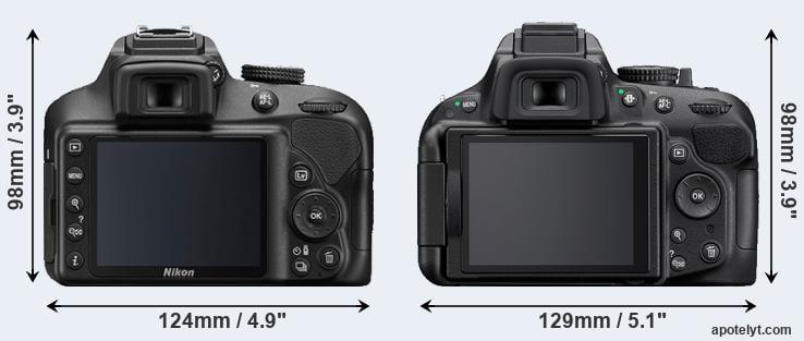 Nikon D3400 vs Nikon D5200 Comparison Review