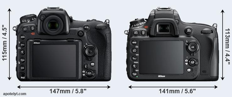 D500 and D600 rear side