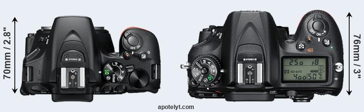 Nikon D5600 vs Nikon D7200 Comparison Review