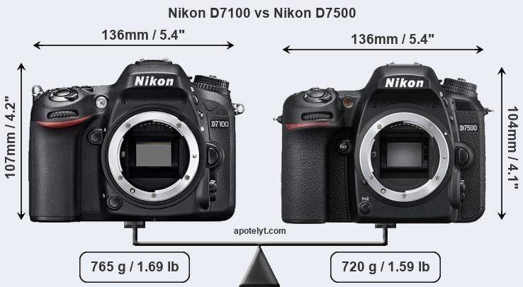 Nikon D7100 vs Nikon D7500 Comparison Review