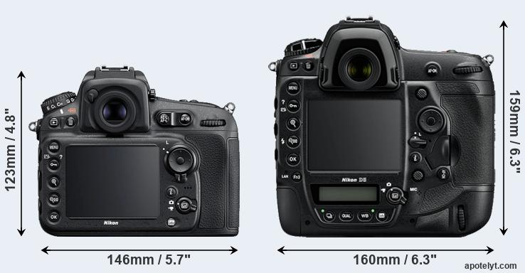 D810 and D5 rear side