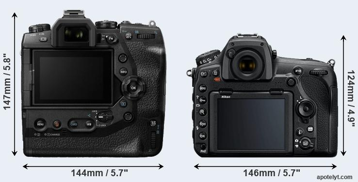 Olympus E-M1X vs Nikon D850 Comparison Review