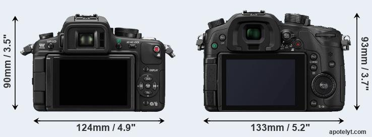 GH1 and GH4 rear side