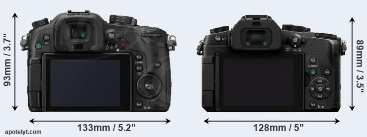 GH3 and G85 rear side