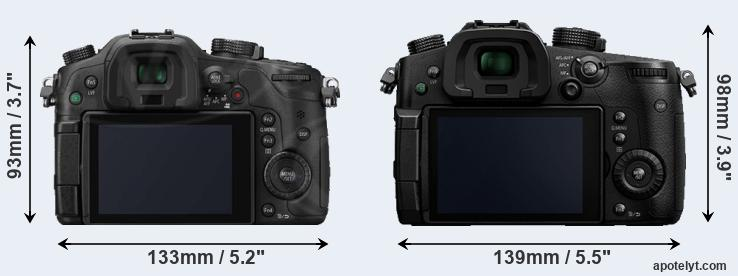GH3 and GH5 rear side