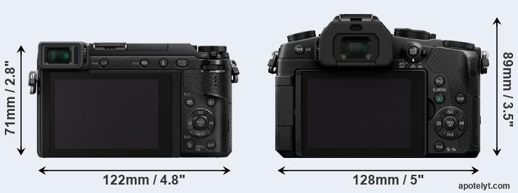GX85 and G85 rear side
